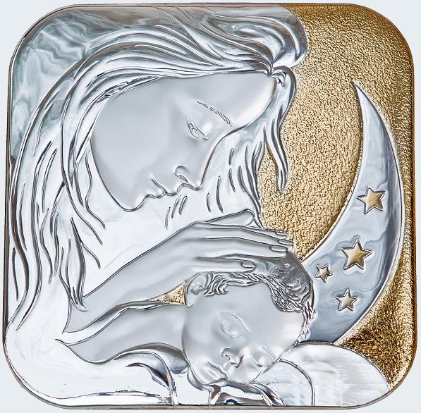 esempio di prodotto in lamina di argento eseguito da FAG s.r.l. (Osimo - AN)