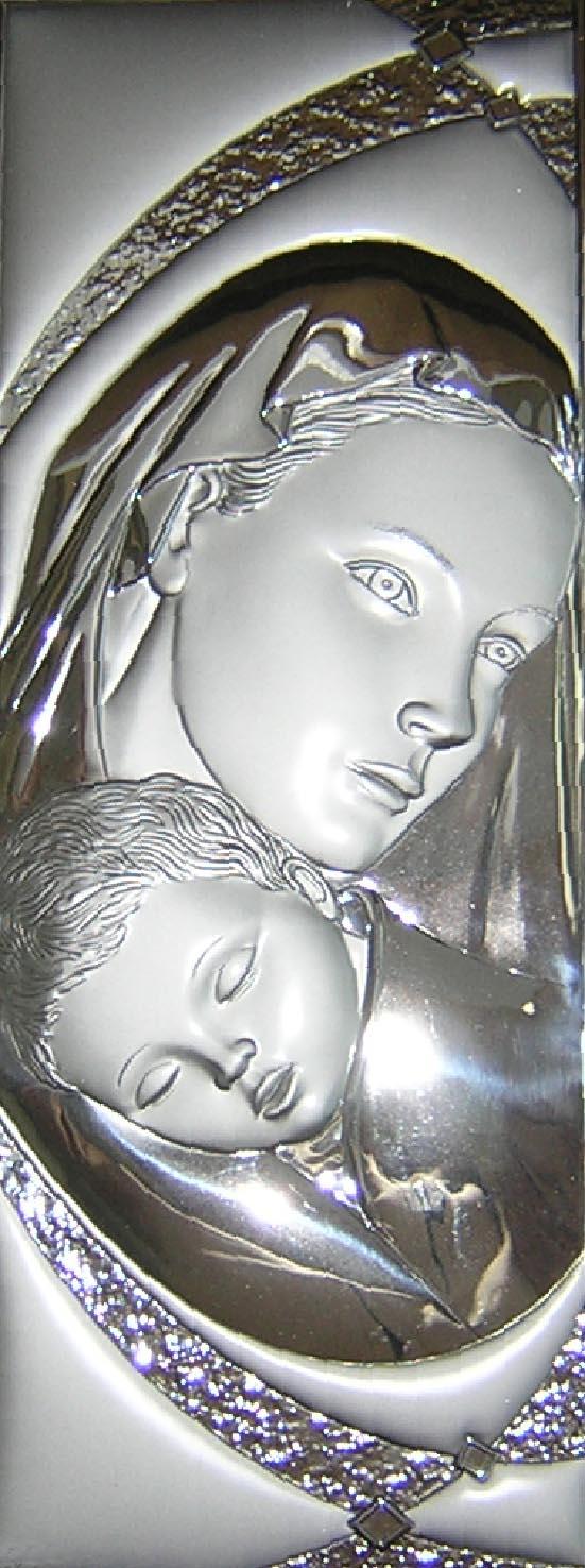 esempio di lavorazione in lamina di argento eseguita presso la FAG s.r.l. di Osimo (AN)